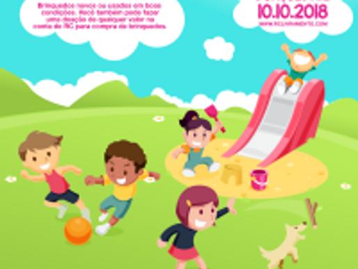 Com grande alegria, RC Livramento lança Campanha de Brinquedos 2018