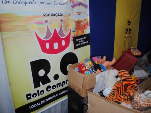 RC Livramento arranca centenas de sorrisos com a Campanha de Brinquedos 2013