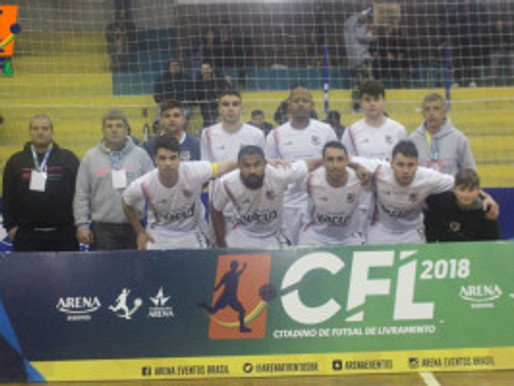 RC Livramento estreia com vitória no Citadino de Futsal 2018