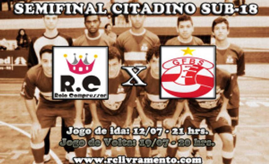 RC Livramento e Grêmio Santanense se enfrentam pelas Semifinais do Citadino 2013 Sub-18 de Futsal