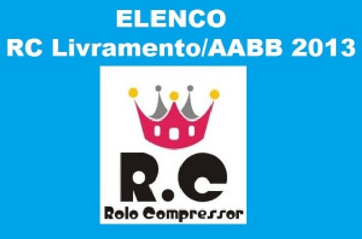 Elenco RC Livramento AABB Citadino 2013 de Futsal