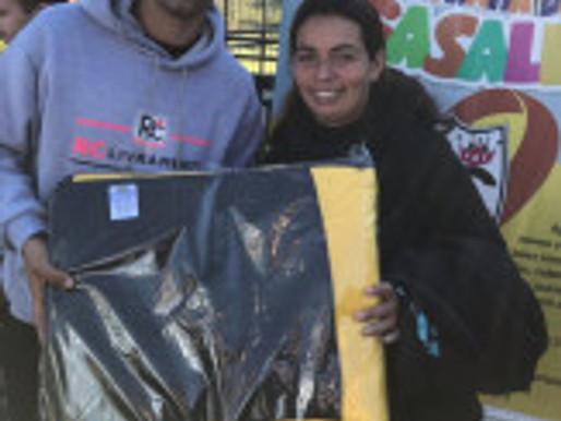 RC Livramento encerra Campanha de Agasalhos 2018 entregando 350 cobertores para a comunidade