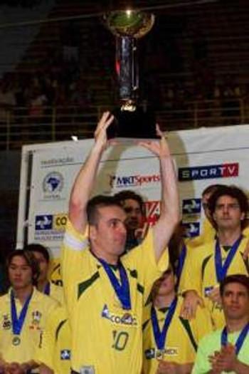 Fininho está marcado na história do Futsal Mundial