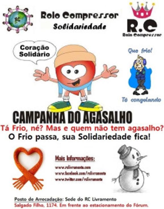 Campanha do Agasalho 2013 do RC Livramento