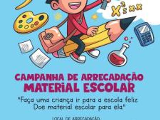 RC Livramento pede apoio para Campanha de Materiais Escolares