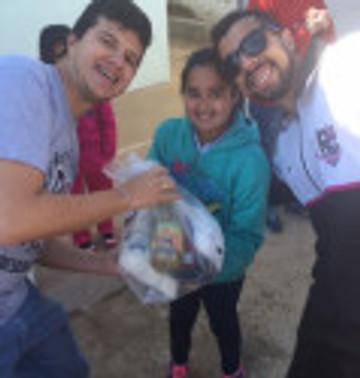 RC Livramento entrega quase duas toneladas e Campanha de Alimentos é um sucesso