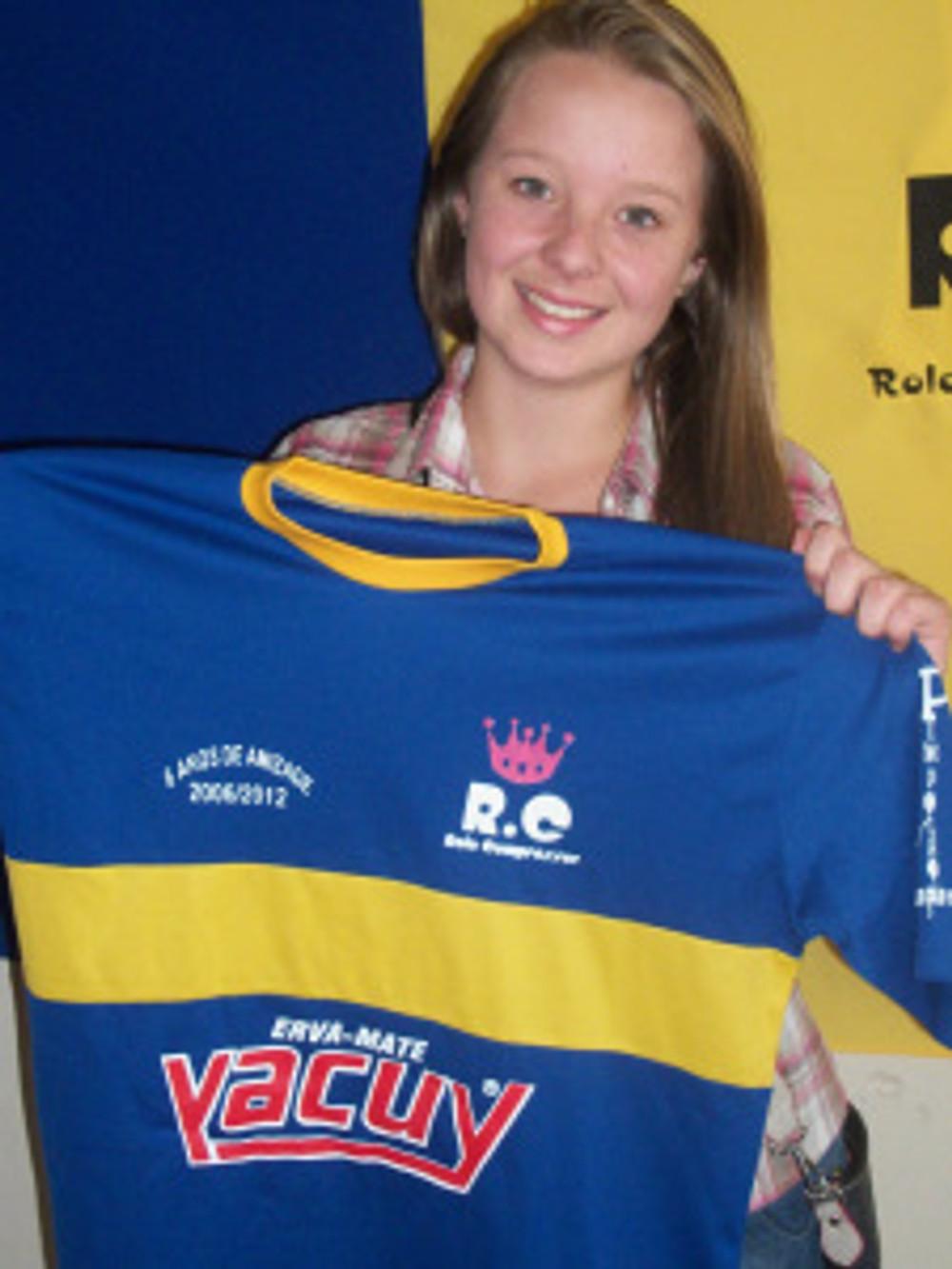 Aycha foi a vencedora do 2º sorteio em homenagem aos 06 anos do RC