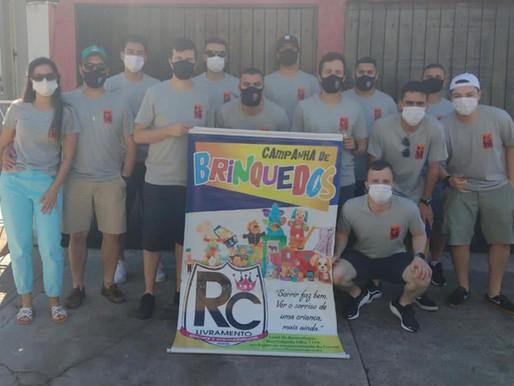RC Livramento leva alegria para mais de 500 crianças no dia 12 de outubro