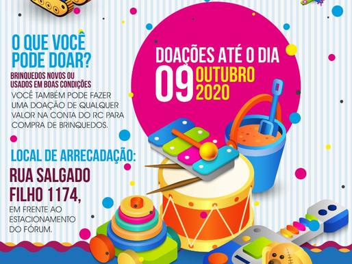 Pensando nas crianças, RC Livramento lança Campanha de Brinquedos 2020