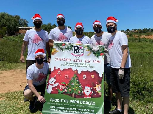 RC Livramento proporciona que mais de 200 famílias tenham um Natal digno, sem fome e mais feliz