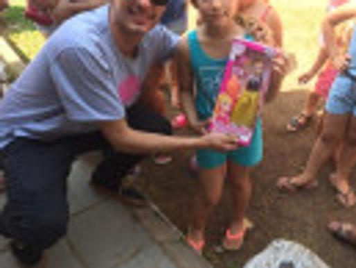 RC Livramento faz a alegria de 600 crianças no dia 12 de outubro