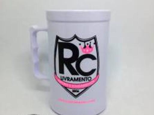 RC Livramento lança caneca personalizada