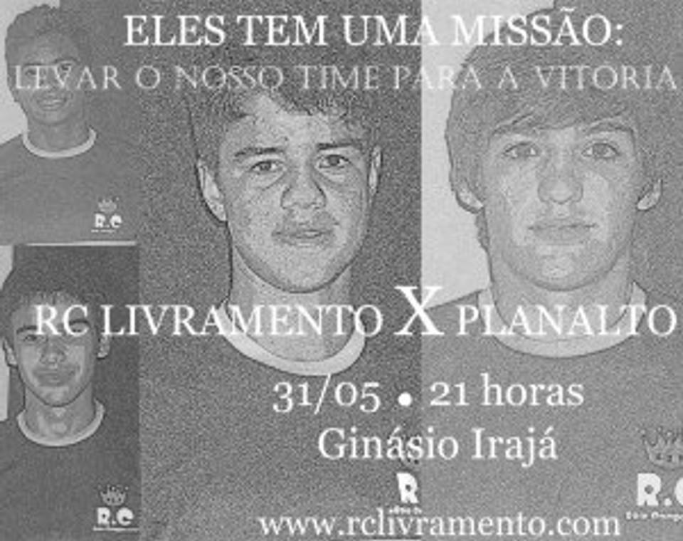 RC X Planalto CITADINO 2013 DE FUTSAL DE SANTANA DO LIVRAMENTO