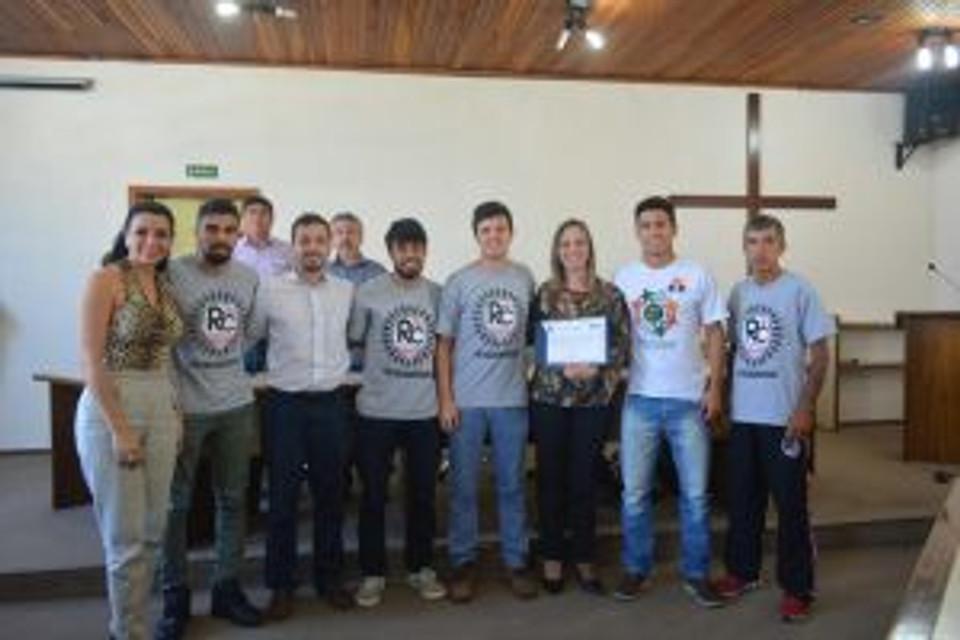 RC Livramento recebe homenagem na Câmara de Vereadores de Santana do Livramento