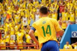 Capitão da Seleção Brasileira de Futsal
