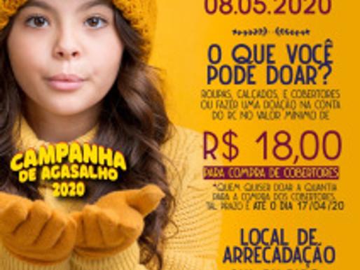 Antes do frio, RC Livramento lança Campanha de Agasalhos 2020