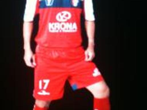 """Leandrinho do Krona/Joinville: """"RC, time de guerreiros, que joga e age com o coração"""""""