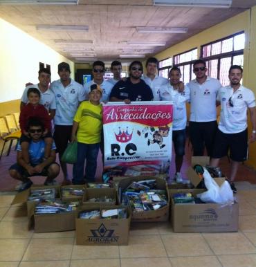 RC Livramento encerra com sucesso Campanha de Materiais Escolares 2014