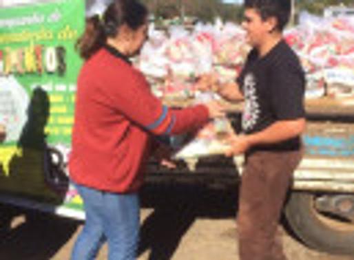 Campanha de Alimentos 2017 do RC Livramento: Duas toneladas e mais de 200 famílias beneficiadas!