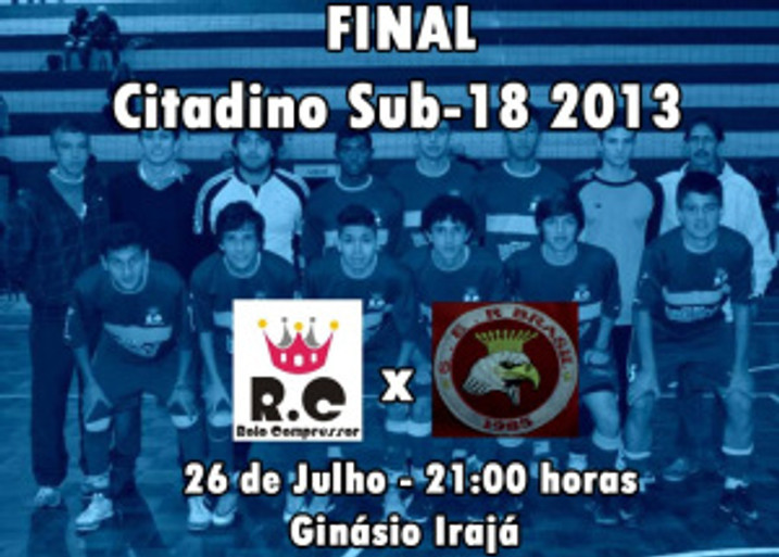 RC Livramento x SER Brasil. Final Citadino sub-18 2013 de Futsal