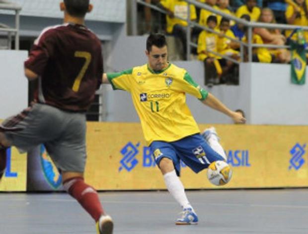 Craque defendendo a Seleção Brasileira de Futsal