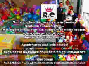 Obrigado por acreditar nas Campanhas Solidárias do RC Livramento
