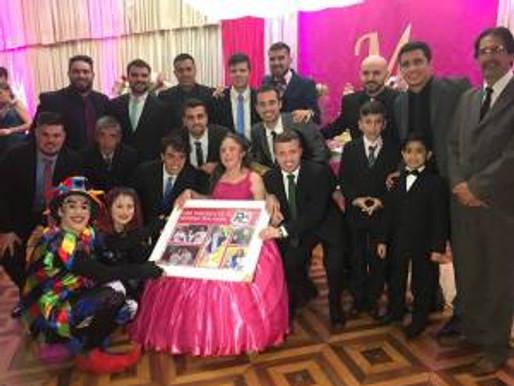 Mariana, Rainha do RC Livramento, completa 15 anos de idade