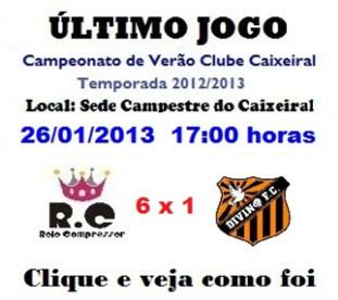 RC Livramento vence Divino F.C.