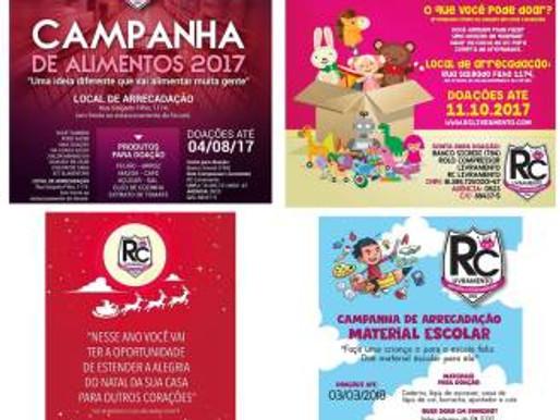 RC Livramento atinge a marca de vinte e oito campanhas solidárias realizadas