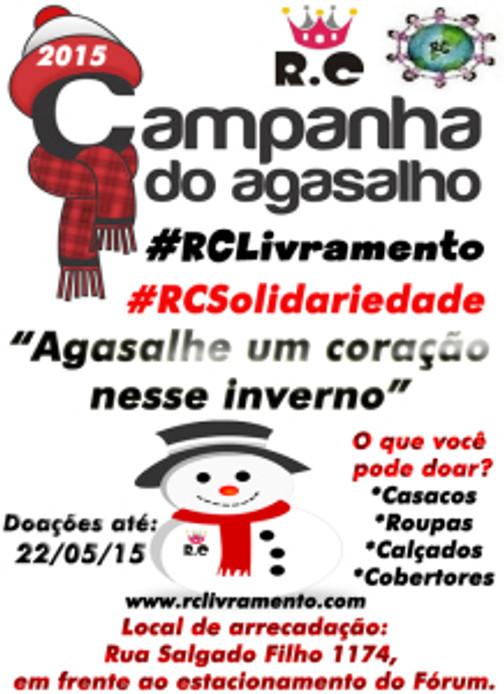 CAMPANHA DE AGASALHOS 2015 DO RC LIVRAMENTO