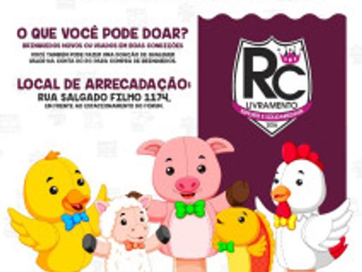 Pensando na criançada, RC Livramento lança Campanha de Brinquedos 2019