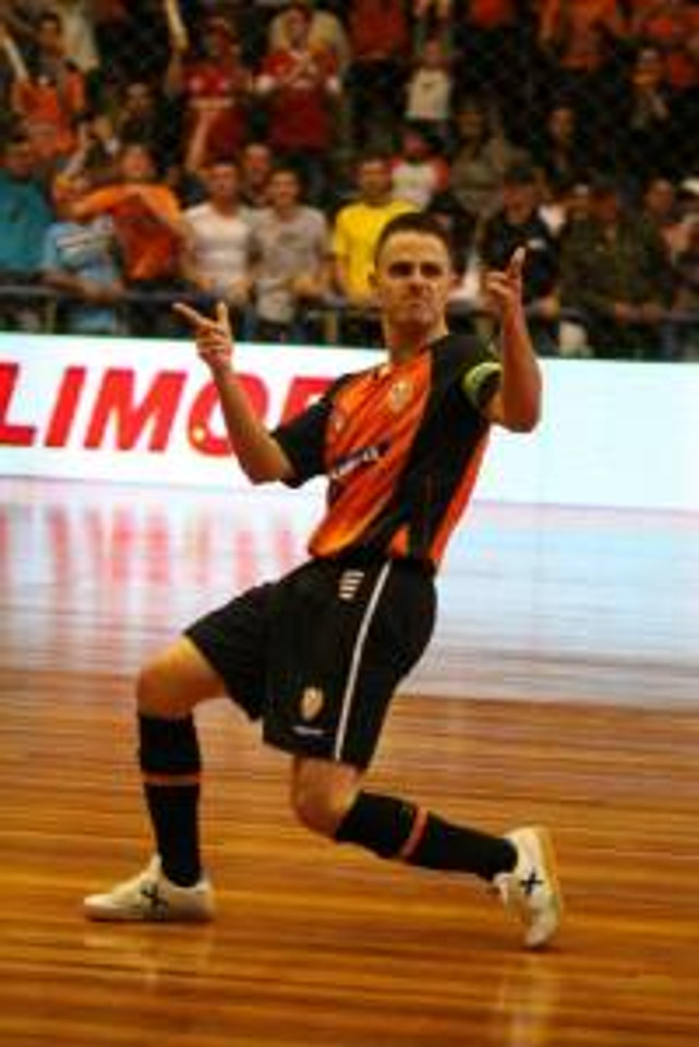 Rodrigo atuou 07 anos em Carlos Barbosa, marcando época e conquistando vários títulos