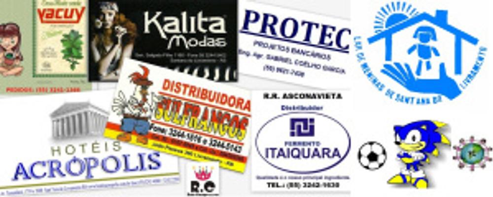Empresas Patrocinadoras e Apoiadoras do RC Livramento em 2013