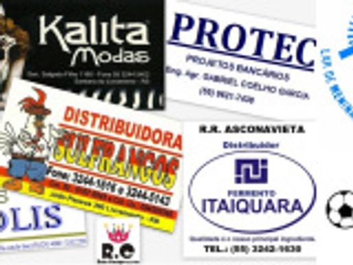 Empresas Patrocinadoras e Apoiadoras do RC em 2013