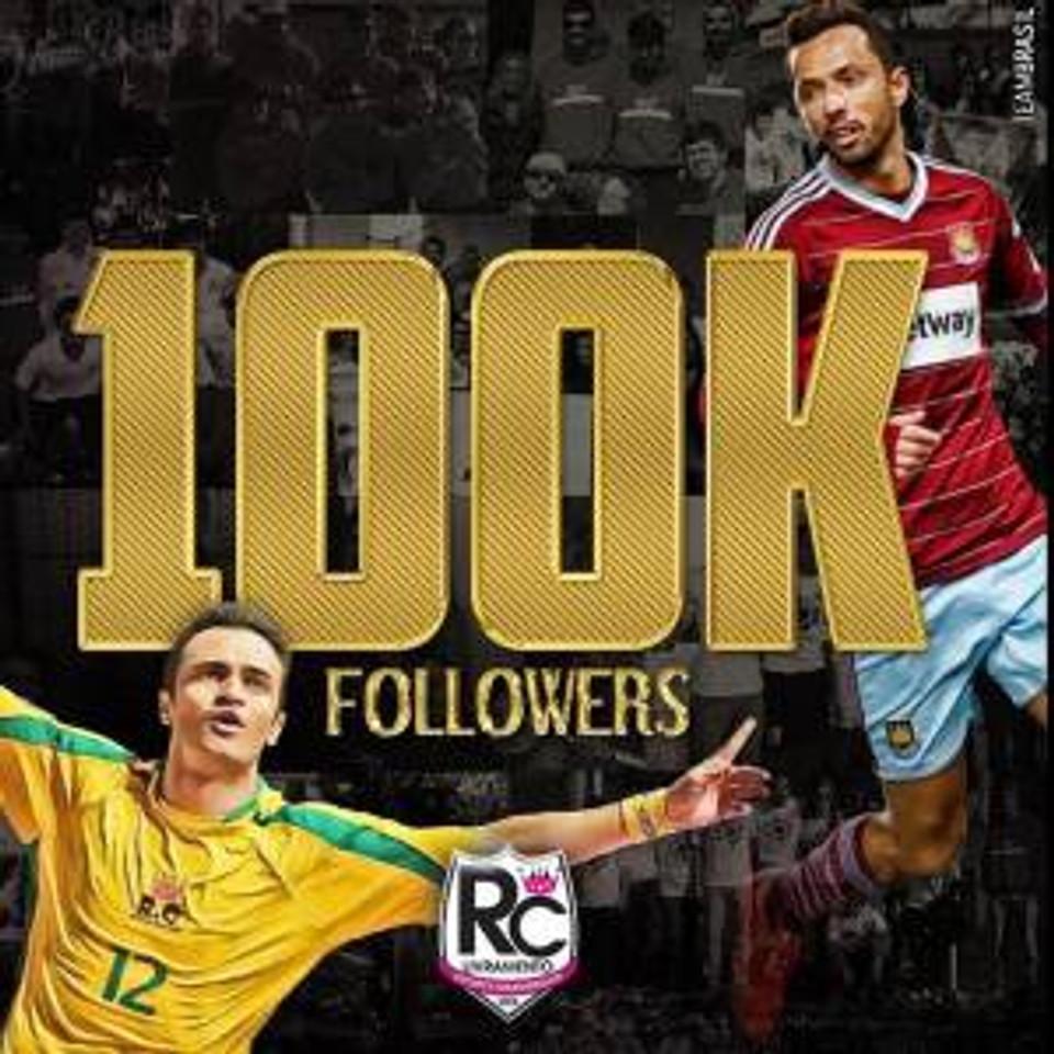 RC Livramento - 100 mil seguidores no instagram