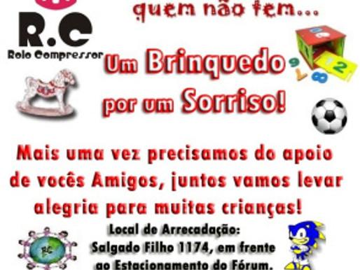RC Livramento pede apoio dos Amigos para Campanha de Brinquedos 2013