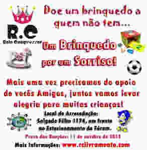 Campanha Solidária de Brinquedos 2013 do RC Livramento