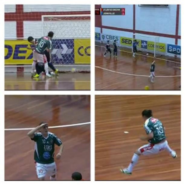 Gol marcado pelo Camisa 10, dando o Título Nacional da Taça Brasil ao Atlântico de Erechim