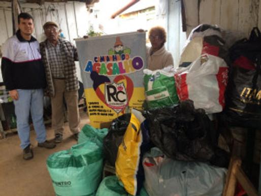 RC Livramento entrega 350 cobertores e Campanha de Agasalhos 2017 é um grande sucesso!