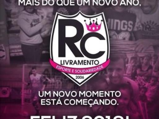 RC Livramento deseja a todos um Feliz 2018!