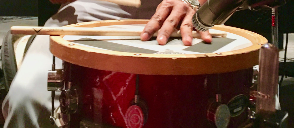 How to Listen to a Snare Drum