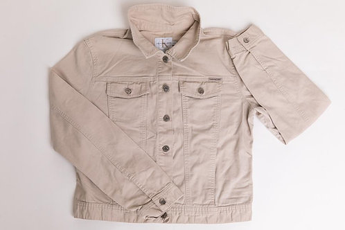 Calvin Klein Jean Jacket in Khaki