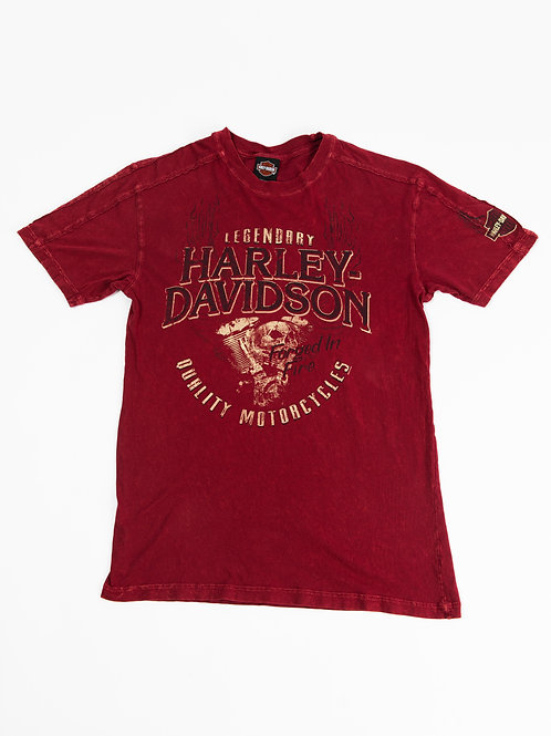 Harley Davidson Red T-Shirt
