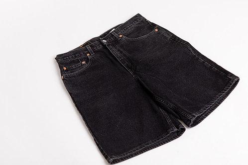 Levi's 550 Long Shorts - Black