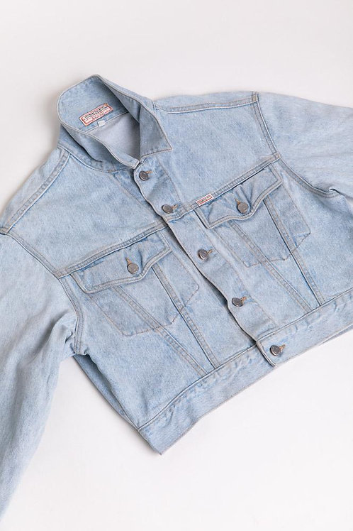 Guess Light Denim Jacket - Cropped