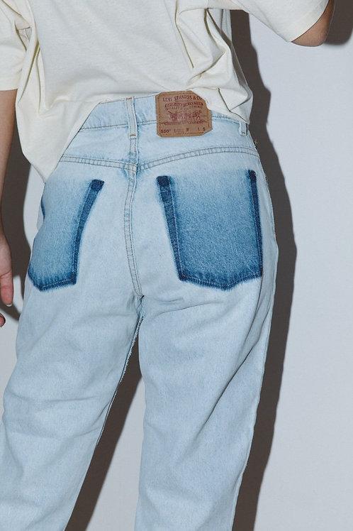 Levi's 550 Pocket-Less Jeans