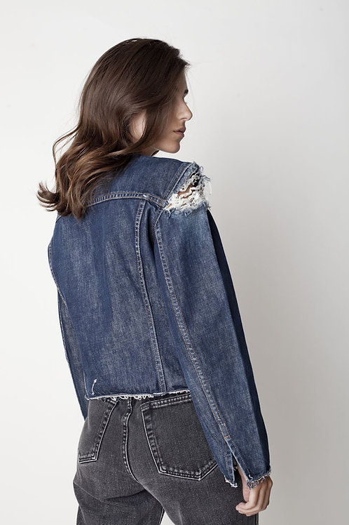 Deconstructed Levi's Jean Jacket - Small