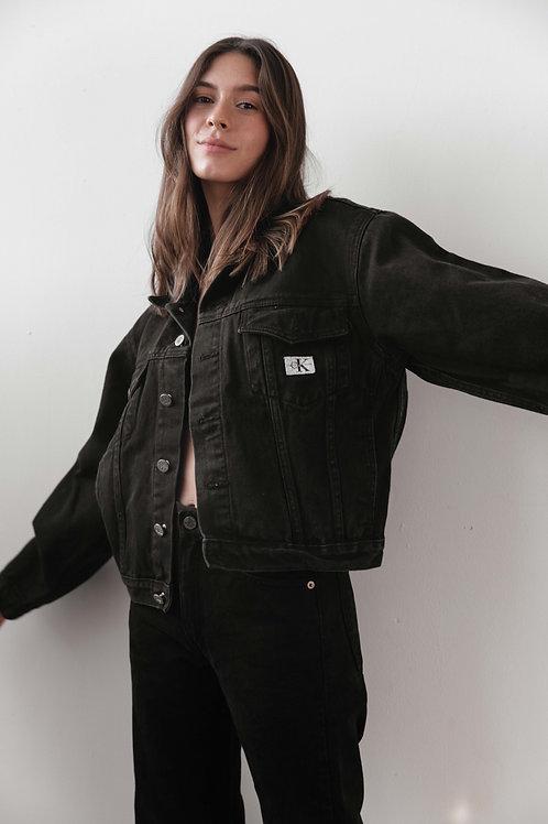 Calvin Klein Black Jean Jacket