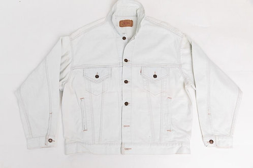 Levi's White Denim Jacket