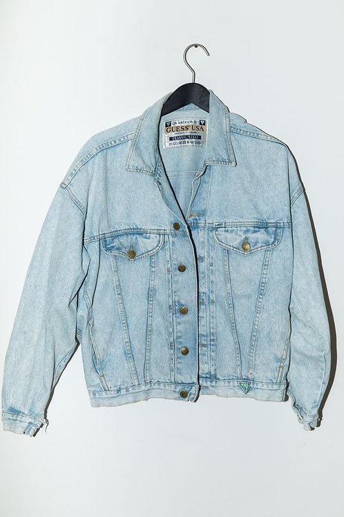 Guess Jean Jacket in Light Denim